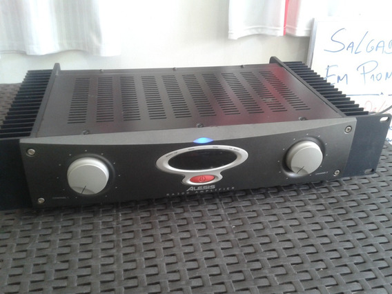 Power Amplificador Alesis Ra-300 # Muito Novo # Impecável