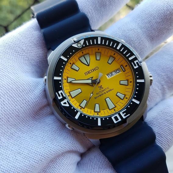 Relógio Seiko Tuna Srpd15 Butterfly Fish Edição Limitada
