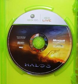 Halo 3 Xbox 360 Caixinha E Cd