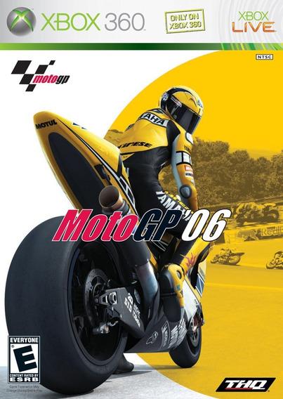 Game Xbox 360 Moto Gp 06 - Usado Excelente