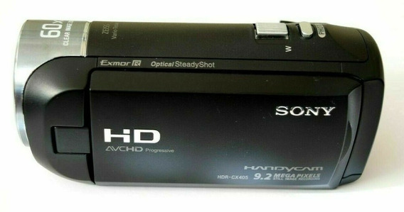 Sony Hdr-cx405 Filmadora 60x Clear Image Zoom Full Hd Cx405