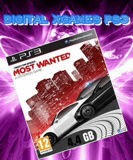 Need For Speed Most Wanted Ps3 Juego Digital