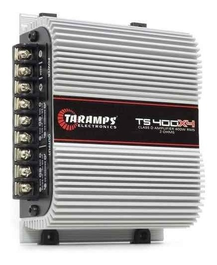 Módulo Amplificador Digital Ts-400x4 Ch, 400 Wrms Taramps
