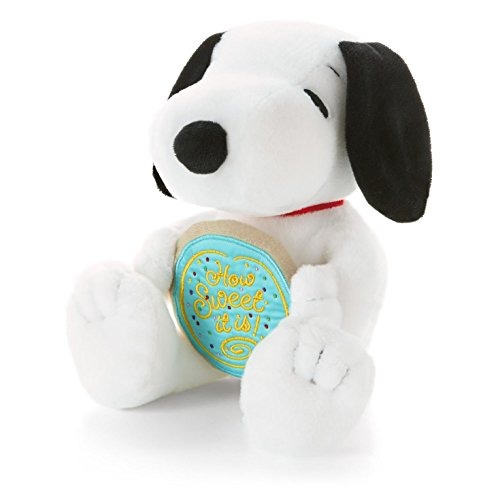 Snoopy Holding Cookie Clásico Peluches
