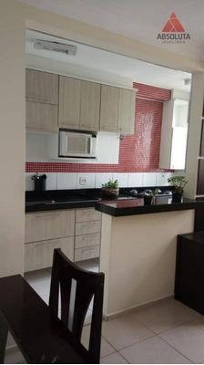 Apartamento Com 2 Dormitórios À Venda, 61 M² Por R$ 270.000 - Vila Omar - Americana/sp - Ap1848
