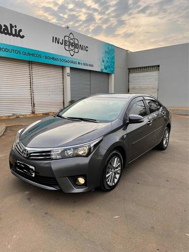 Imagem 1 de 12 de Toyota Corolla 2016 2.0 16v Xei Flex Multi-drive S 4p