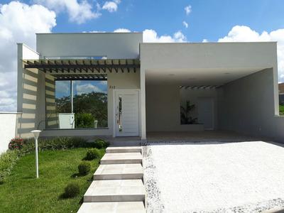 Permuta Linda Casa Térrea (nova) 4 Dorm 3 Stes Condomínio