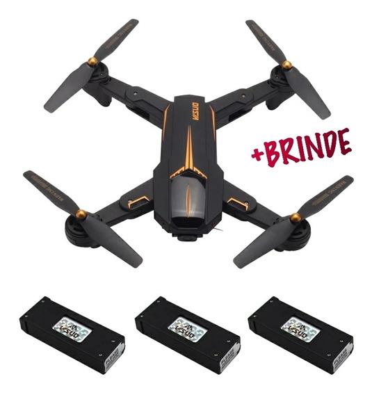 Drone Visuo Xs812 Gps 5g Camera Hd 5mp Lancamento 3 Baterias