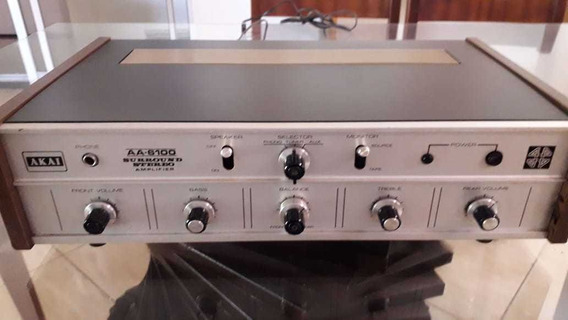 Potência Akai Aa6100 Para Retirada De Pecas Ou Reforma