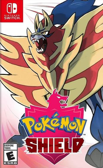 Mídia Física Pokémon Shield Switch - Novo Lacrado De Fábrica