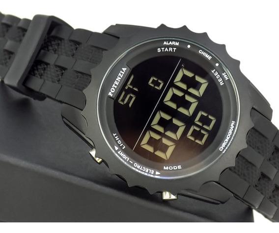 Relógio Masculino Digital Pulseira Silicone Original