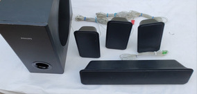 5 Caixas De Som Home Theater Philips Hts3365x/78