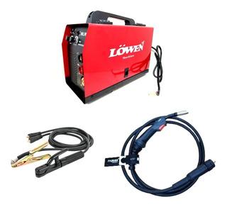 Soldadora Inverter Mig 2en1 Mig/ Electrod Lowen 250 Euro Smg