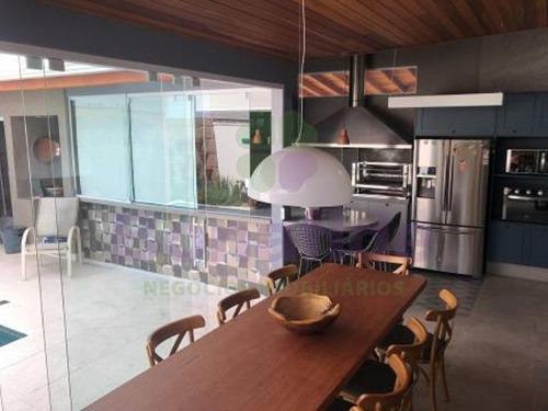 Casa A Venda, Condomínio Chácara Das Palmeiras Imperiais, Medeiros, Jundiaí - Ca09502 - 34498091