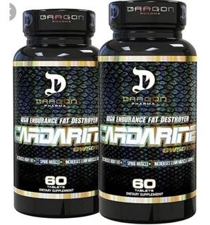 Cardarine 60 Caps 2 Unidades Dragon Pharma Importado Eua
