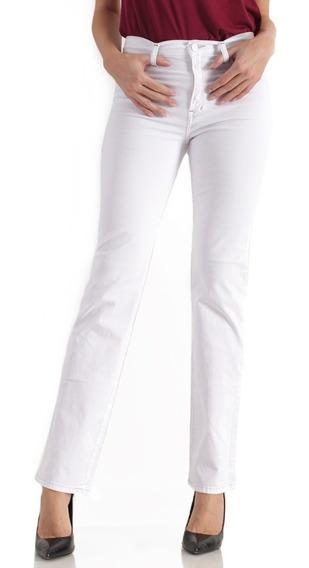 Jeans Oggi Mujer Atraction Blanco