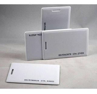 Kit 10 Cartões Crachá Rfid 125khz
