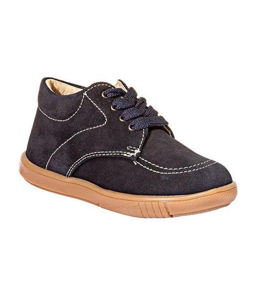 Zapatos Casuales Kinder Niño Azul Marino Gamuza 305