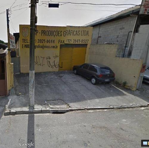 Imagem 1 de 3 de Galpão  Comercial Para Locação, Jardim Oswaldo Cruz, São José Dos Campos. - Ga0011