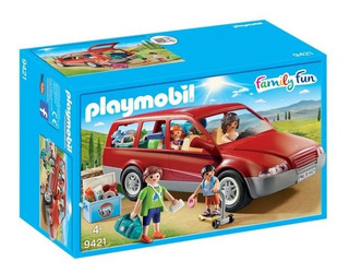 Auto Familiar Family Fun Van Original Playmobil 9421 Playlgh