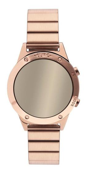 Relógio Feminino Euro Fashionfit Reflexos Eujhs31bac/4d Rosé
