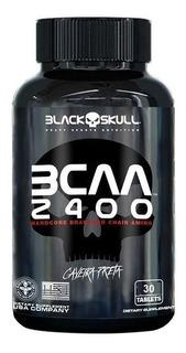 Bcaa 2400 30 Tabletes Black Skull