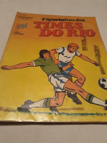 Álbum De Figurinhas Times Do Rio - Copa Rio 1988 Raro