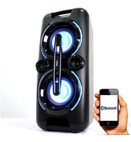 Caixa Som Mp3 Usb Cartao Festa Som Potente Bluetooth Philco