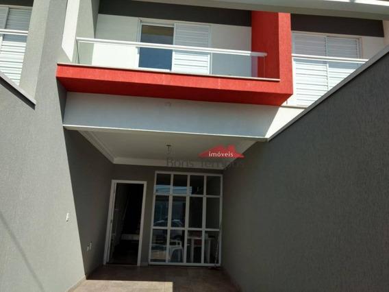 Sobrado Com 3 Dormitórios À Venda, 140 M² Por R$ 610.000 - Cidade Patriarca - São Paulo/sp - So2722