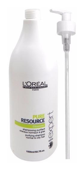 Loreal Profesional Shampoo Neutro Pure Resource X1500 Graso