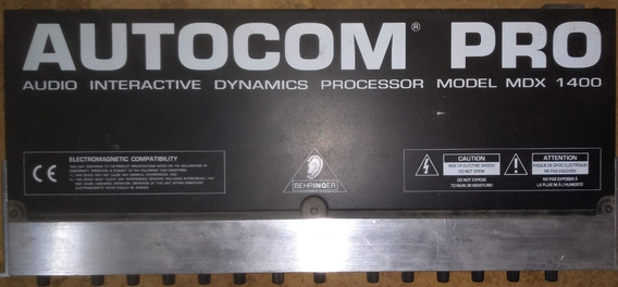 Compressor Behringer Autocom Pro Mdx1400