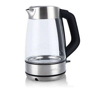Cusimax 17l Bpafree Glass Electric Kettle, Cordless Water Ke
