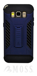 Funda Fenix Motorola Moto E4 Plus Case Uso Rudo Kick Stand