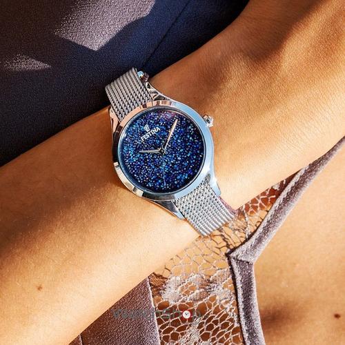 álbum de recortes Canberra Hola  Reloj Festina Cristales Swarovski F20336.2 Mujer | Mercado Libre