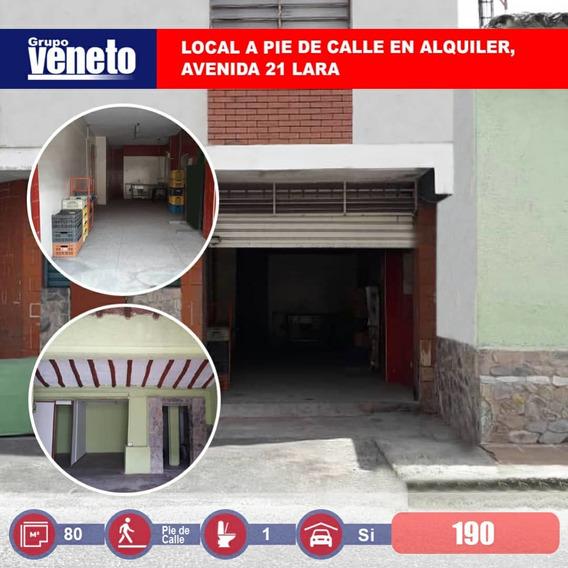 Local A Pie De Calle, Av 21 Entre 16 Y 17