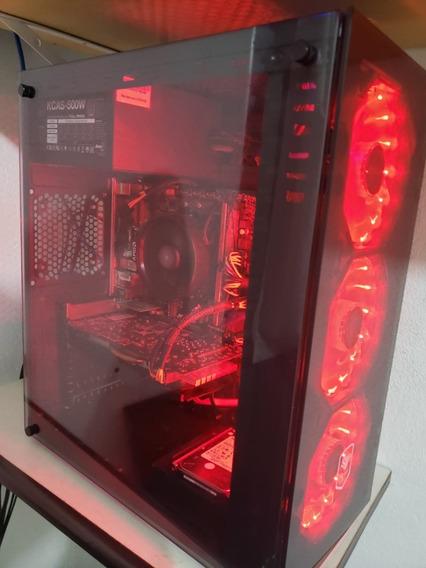 Pc Gemar - Ryzen 5 2400g - Gtx 1060 Oc 6gb - Ssd 120g + Hd
