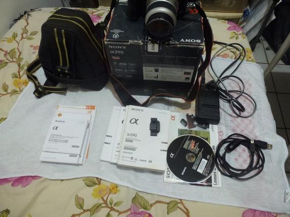 Vendo Dslr Sony A290 Na Caixa,manuais,acessorios-nao Filma