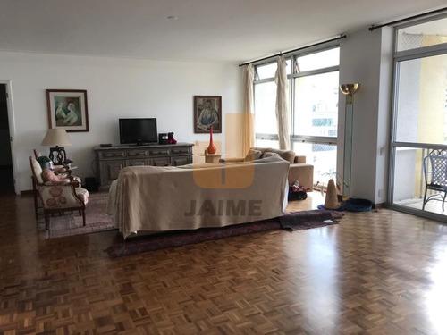 Apartamento Para Locação No Bairro Higienópolis Em São Paulo - Cod: Ja3993 - Ja3993