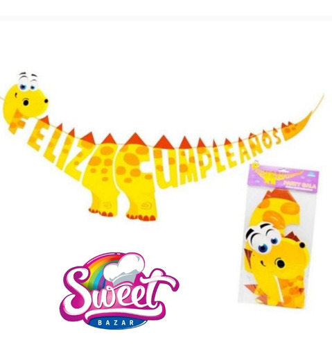 Cartel Cumpleaños Dinosaurio