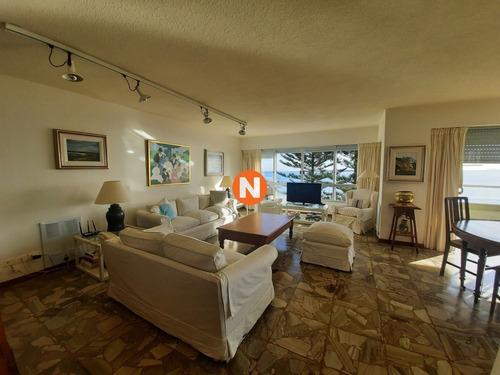 Apartamento En Venta Y Alquiler, Mansa, Punta Del Este, 3 Dormitorios.- Ref: 1800