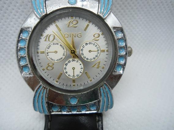 Relógio King Quartz - Usado Como Mostruario Mais Esta Novo