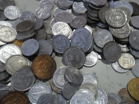 455 Moneda Argentina Lote Antiguas Austral Peso
