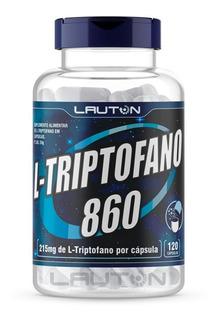 L - Triptofano C/ 860mg Com 120 Cápsulas Promoção