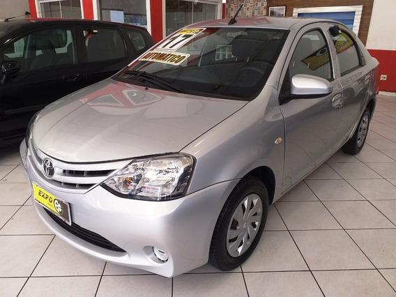 Toyota Etios 1.5 16v X 2017 Automatico