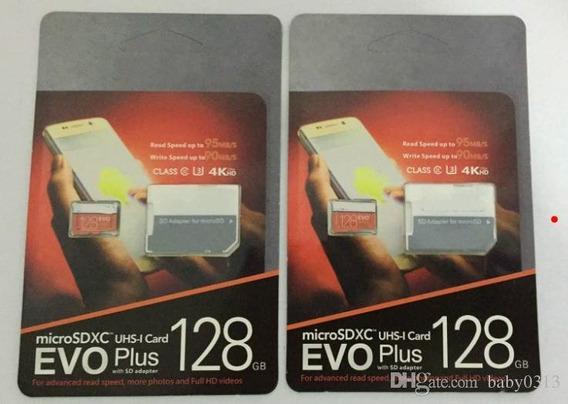 Cartão Micro Sd Sdxc Samsung Evo 128gb Plus Uhs-3