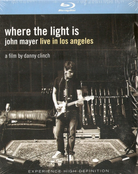 Blu-ray John Mayer Live In Los Angeles - Where The Light Is