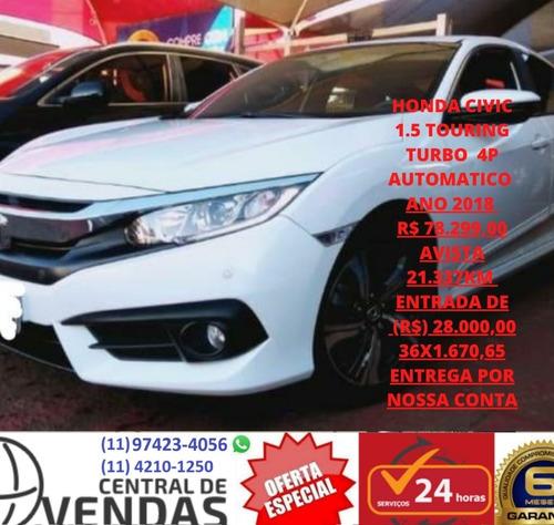 Honda Civic 1.5 Touring Ano 2018