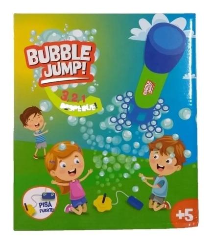 Imagen 1 de 4 de  Lanza Cohete Bubble Jump  Con Burbujas
