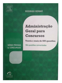 Livro Administração Geral E Para Concursos