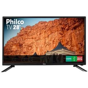 Tv Led 28 Philco Ph28n91d Conversor Digital Bivolt - C/ Nf